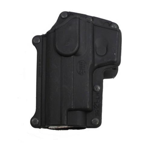 Fobus Standard Holster Left Hand Hand Belt SG21LHBH Sig 220/225/226/228/229/245 Series / S&W 3913, 3913TSW, 3914, 3919, CS9, 4013, 5904, 5906, 6906 Std. Series, 910, 915, 908V/ CS45 / Witness Series P/ PS/ PC/ P Combo (Gun Holster For Model 6906 compare prices)