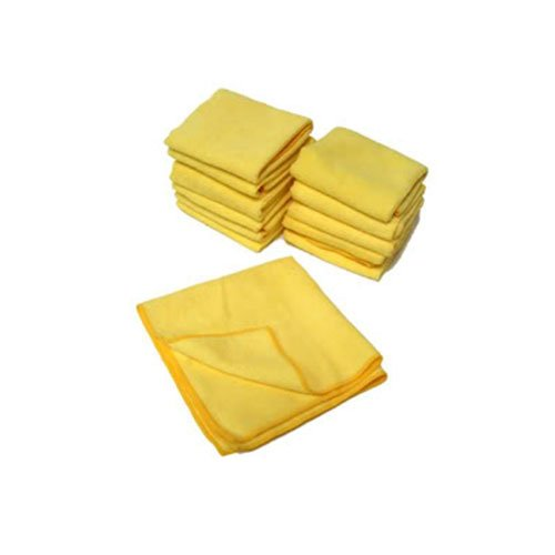 "Chemical Guys Mic_103_12 - Ultra Fine Microfiber Towels, Yellow 15"" X 15"" (Pack Of 12) front-530426"
