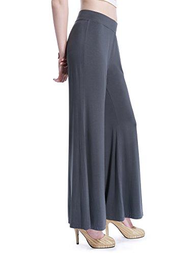 david-archy-womens-bamboo-fiber-comfy-palazzo-lounge-pantxldark-gray