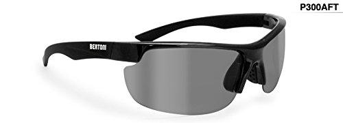 Occhiali fotocromatici polarizzati ciclismo running pesca e golf - lente 100% U.V. e antivento by Bertoni eyewear P300AFT
