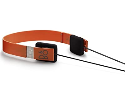 Bang and Olufsen Form 2 Headphones - Orange from Bang & Olufsen