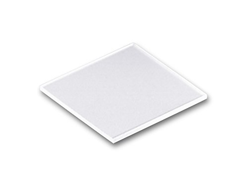 """Technical Glass Products- Fused Quartz Microscope Slides - 1"""" Length X 1"""" Width X 1Mm Thickness"""