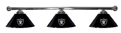 Bon Oakland Raiders Pool Table Light   Chrome Bar Reviews