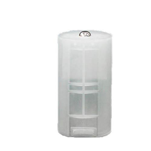 8 x Adaptateur de Batterie de Taille AA à Taille D à Boîte Blanche