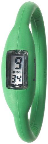Breo Women's PU-BR10233 Sport Roam Small (16cm) Green Rubber Watch