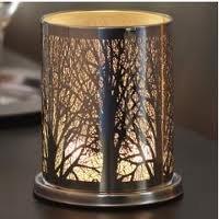 partylite enchanted woodland votive hurricane kitchen home. Black Bedroom Furniture Sets. Home Design Ideas