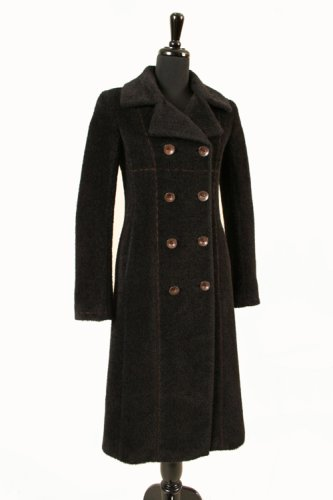 Buy Alpaca 111 Long Black Alpaca Coat