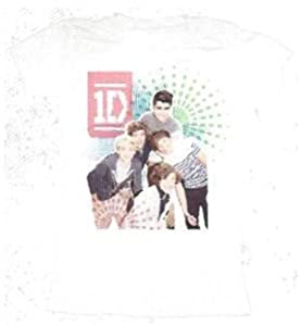 1d One Direction Color Test Juniors T-shirt