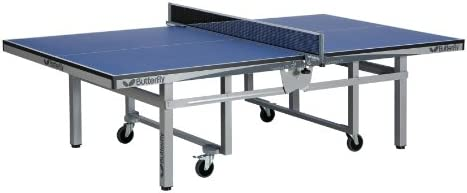 Butterfly T2625SU Centrefold 25 Sky Rollaway Table Tennis Table Tournament Used