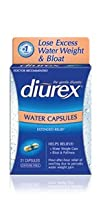 Diurex Water Capsules 21 Count Capsules Pack of 3