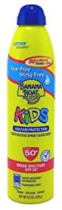 Banana Boat Continuous Spf#50 + Spray Kids 9.5oz Family Size