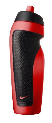 Nike Sport Borraccia, Colore Rosso - Nero, Taglia 2
