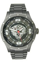 Ed Hardy Tiger Brute Black Dial Men's watch #BR-BK