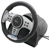 echange, troc Volant vibreur + pédalier Pour Playstation 2 et PC