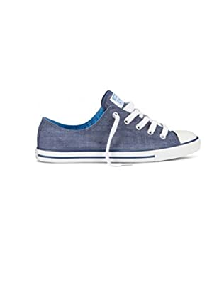 Converse CT Dainty Ox Shoes - Ensign Blue - UK 8