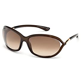 TomFord JENNIFER FT0008 Sunglasses TF8 Color 692 Dark Brown TF 08