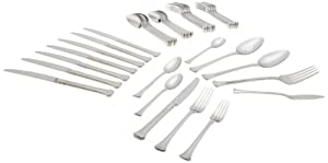 Oneida Apollonia 45-Piece Flatware Set, Service for8