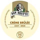 24 Count - Van Houtte Creme Brulee Flavored Coffee K Cup for Keurig Brewers