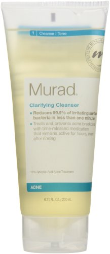Murad Acne Clarifying Cleanser, Step 1 Cleanse/Tone, 6.75 fl oz (200 ml)
