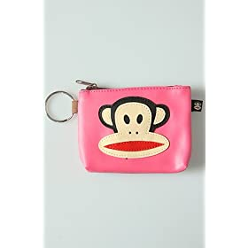 Paul Frank The Julius Coin Purse in Hot Pink,Accessories for Women