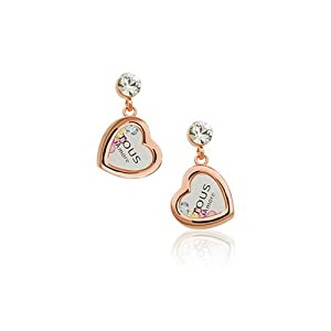Amazon.com: Photo Drop Earrings with words Tous Amore