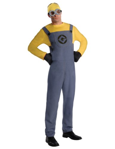 Despicable Me 2 Minion Dave Adult Costume Adult Mens Costume