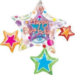 Mayflower Balloons 1153 37 Happy Birthday Star Insider - Package - 1
