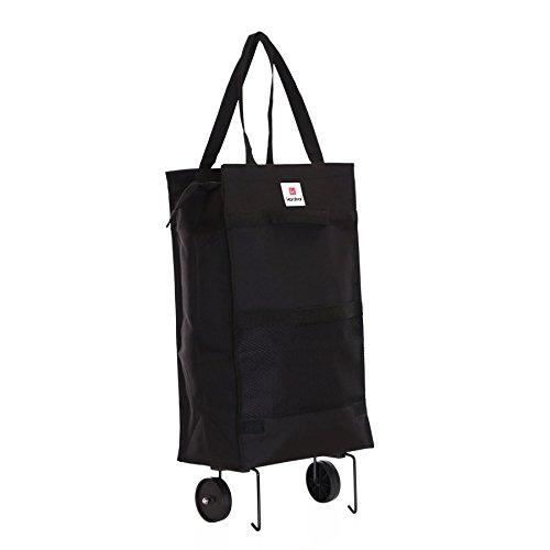 karabar-monsanto-carrito-de-la-compra-plegable-negro
