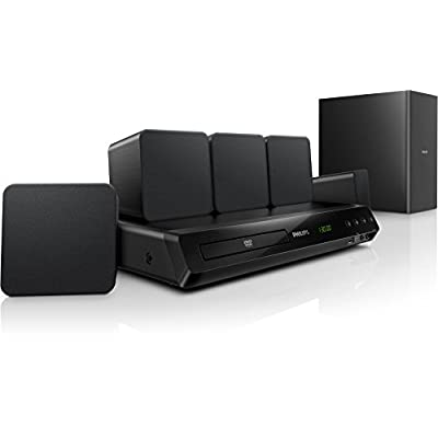 Philips HTD 3520G/94 Home theatre (Black)