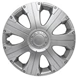 PEUGEOT 207 & 207CC (2006 on) 14 Inch Racing Car Alloy Wheel Trims Hub Caps Set of 4