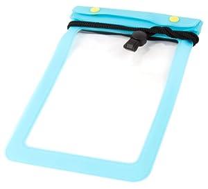 Wasserdichte Umhängetasche für TrekStor Pyrus eBook Reader 4Ink 6 Zoll / Tolino shine eReader - blau - perfekt für den Urlaub!