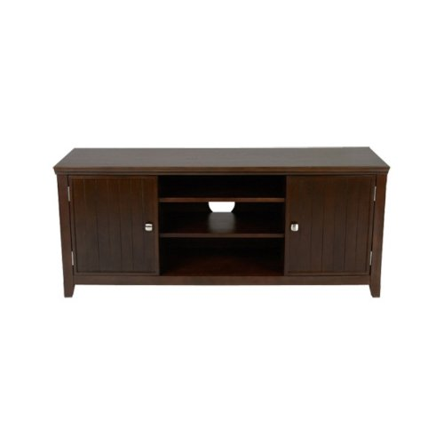 Cheap Simpli Home AXWELL3-005 Acadian Collection 54-Inch Tv Stand, Rich Tobacco Brown, 1-Pack (AXWELL3-005)