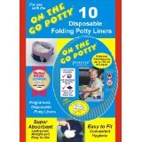 Kalencom Potette on the Go Potty Liner Re-fills 10-pack (Pack 4)