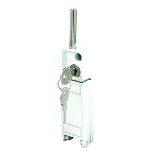 Prime-Line Products U 9919 Keyed Deadbolt Lock, White Finish photo