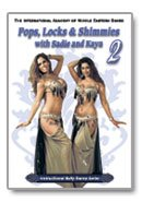 Pops Locks & Shimmies 2 with Sadie and Kaya - Belly Dance DVD