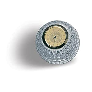 Duke University - Crystal Golf Ball Clock - Gold