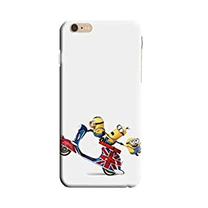 Aurmen High Quality Printed Designer Back Case Cover For I Phone 6 (Minion60)