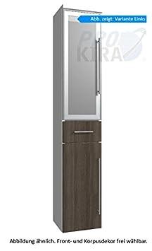 puris Classic Line armadio alto (hna053b7ml/R) Mobile da bagno, 30cm