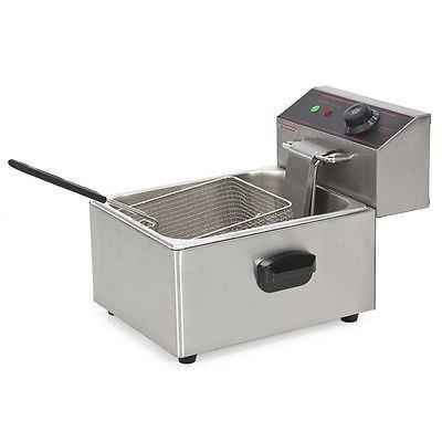 Deep Fryer Electric 2500 Watt Commercial Unit Restaurant Frying Deep Fryer New