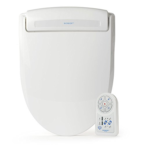 BB-400E BioBidet Harmony Electric Bidet Seat for Elongated Toilet, White (1 4 Line Filter Dryer compare prices)