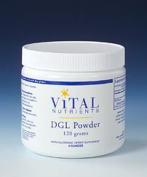 Vital Nutrients DGL Powder 4oz 120 grams