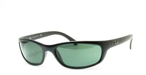 Ray Ban RB4115 Sunglasses-601S/71 Matte Black (Gray Green Lens)-57mm