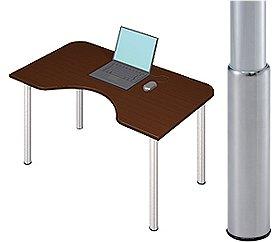 Garage パソコンデスク D2-MーSJ マホガニー