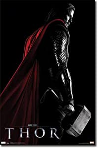 Thor Movie Chris Hemsworth Poster Print - 22x34 Poster Print, 22x34