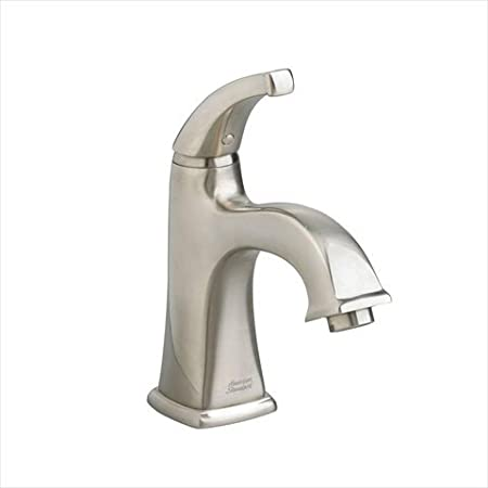 American Standard 2555.101.295 Town Square Monoblock Single-Hole 1-Handle Mid-Arc Bathroom Faucet in Satin Nickel