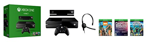Xbox One 500GB Console with Kinect - 3 Game Bundle (Dance Central Spotlight + Kinect Sports Rivals + Zoo Tycoon) JungleDealsBlog.com