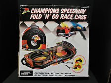 Life-Like Champions Speedway Fold n' Go Kid Powered Slot Car Race Set