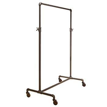 Econoco Pipeline Adjustable | 2-Way Ballet | Vintage Rolling Rack