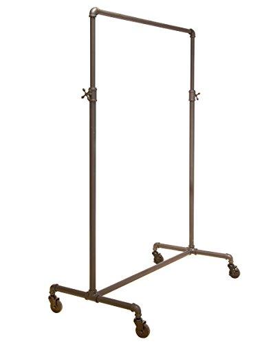 Econoco Pipeline Adjustable | 2-Way Ballet | Vintage Rolling Rack 0