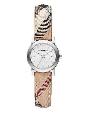 [バーバリー] Burberry 腕時計 Watch City Ladies - White Dial Stainless Steel Case Quartz Movement クォーツ ムーブメント BU9222 【並行輸入品】